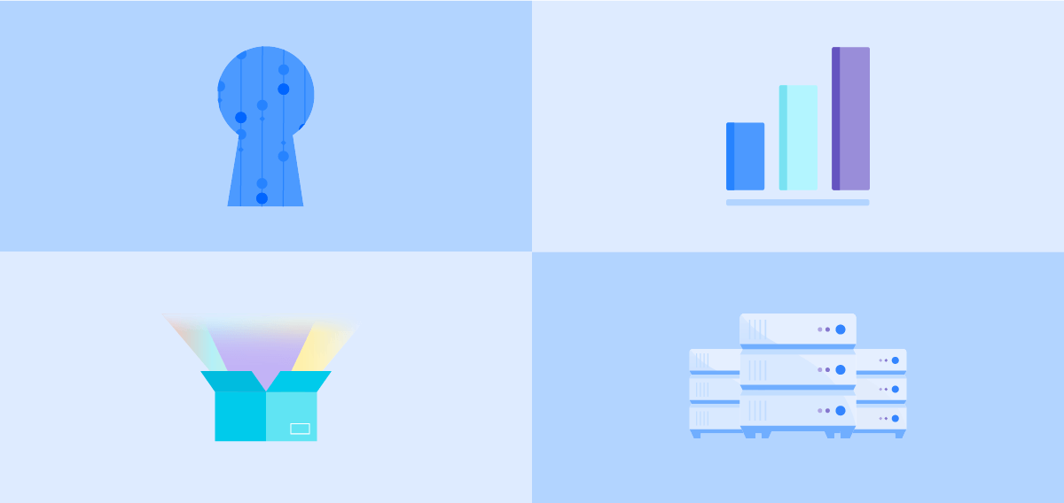 Data Center-Abbildungen