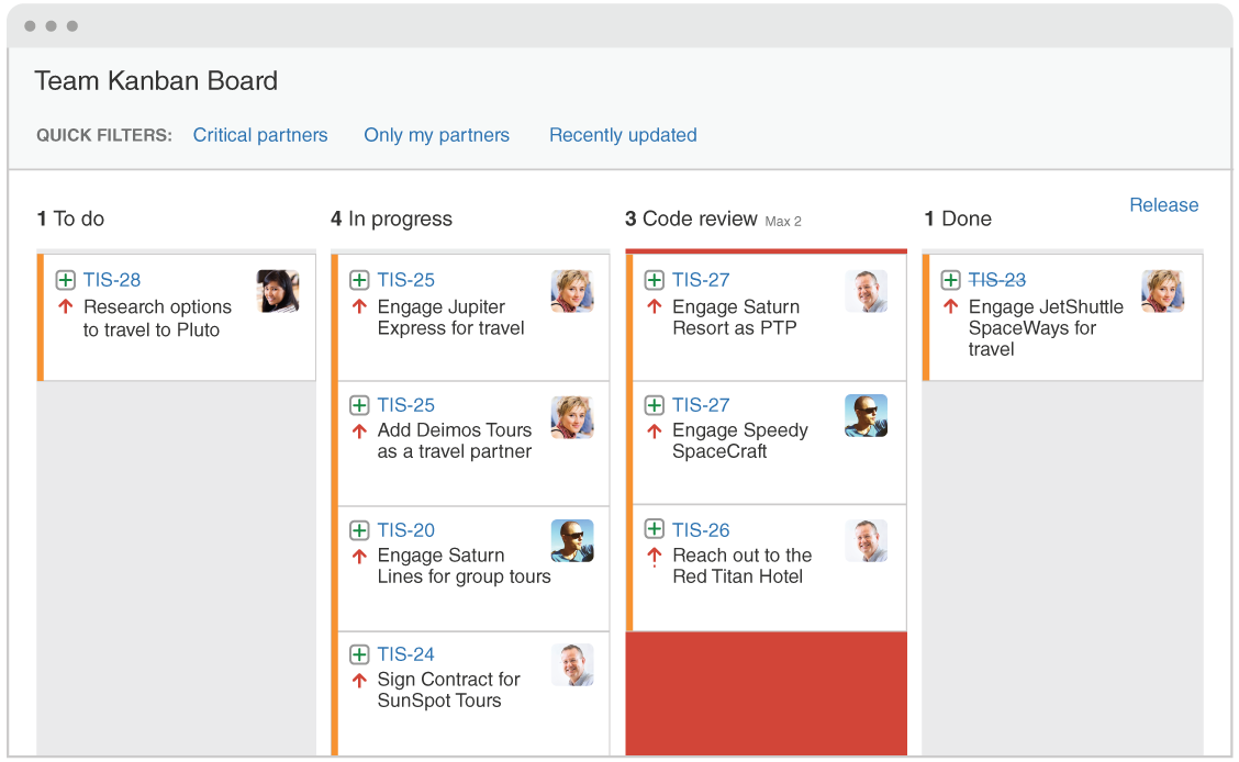 Agile Kanban Board   Atlassian agile coach