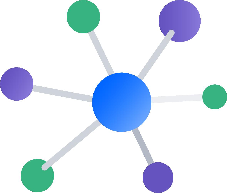 Diagramm zu zentralisiertem Versionskontrollsystem