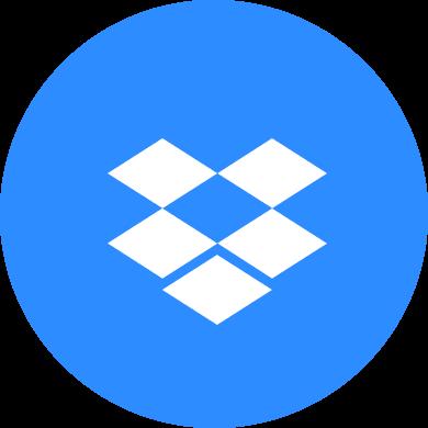 Dropbox のロゴ