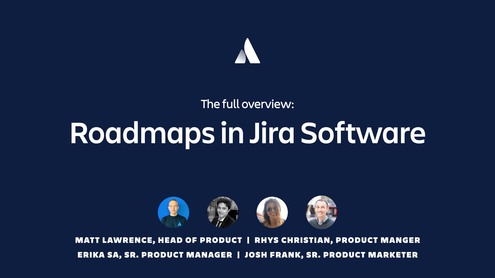 Roadmaps in Jira Software