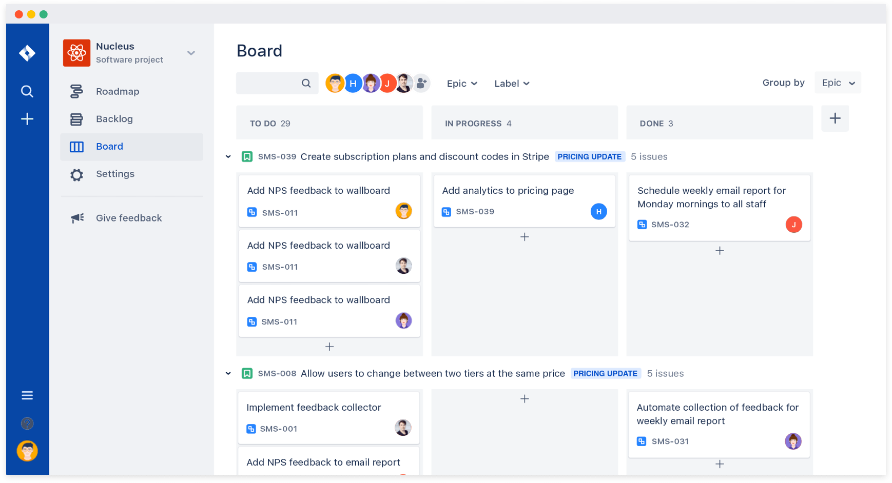 Enable everyone on the team to personalize their view of the board