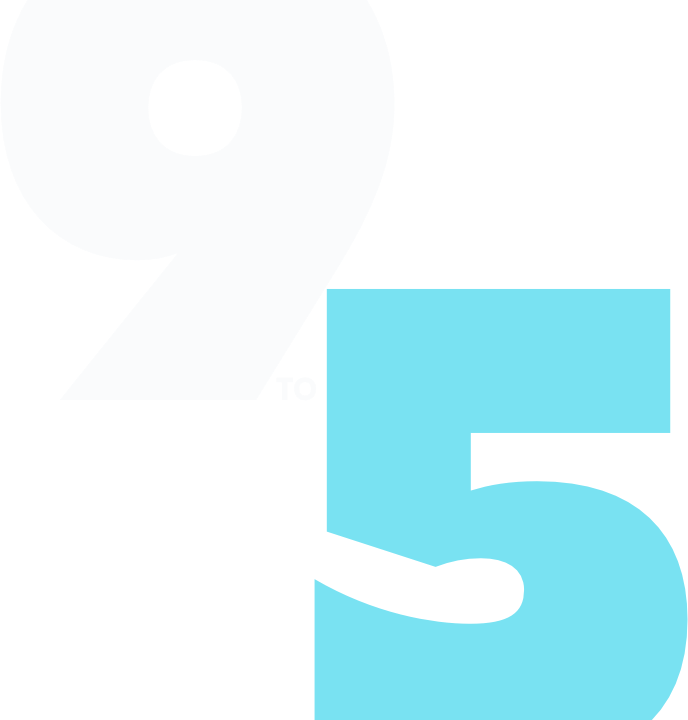 9 a 5