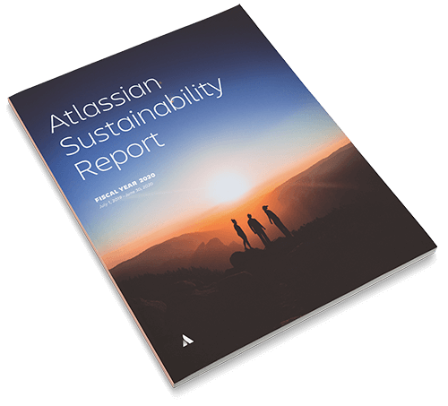Sustainability Report Cover