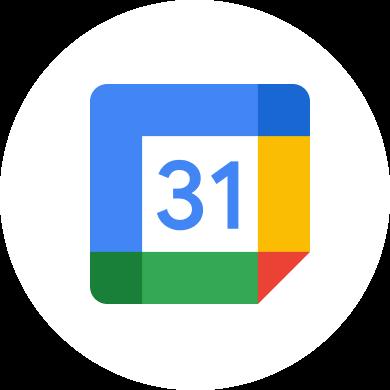Logotipo do Google Agenda