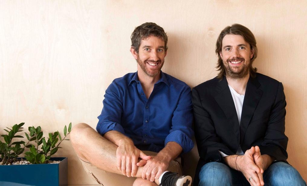 创始人兼首席执行官:Mike Cannon-Brookes 和 Scott Farquhar