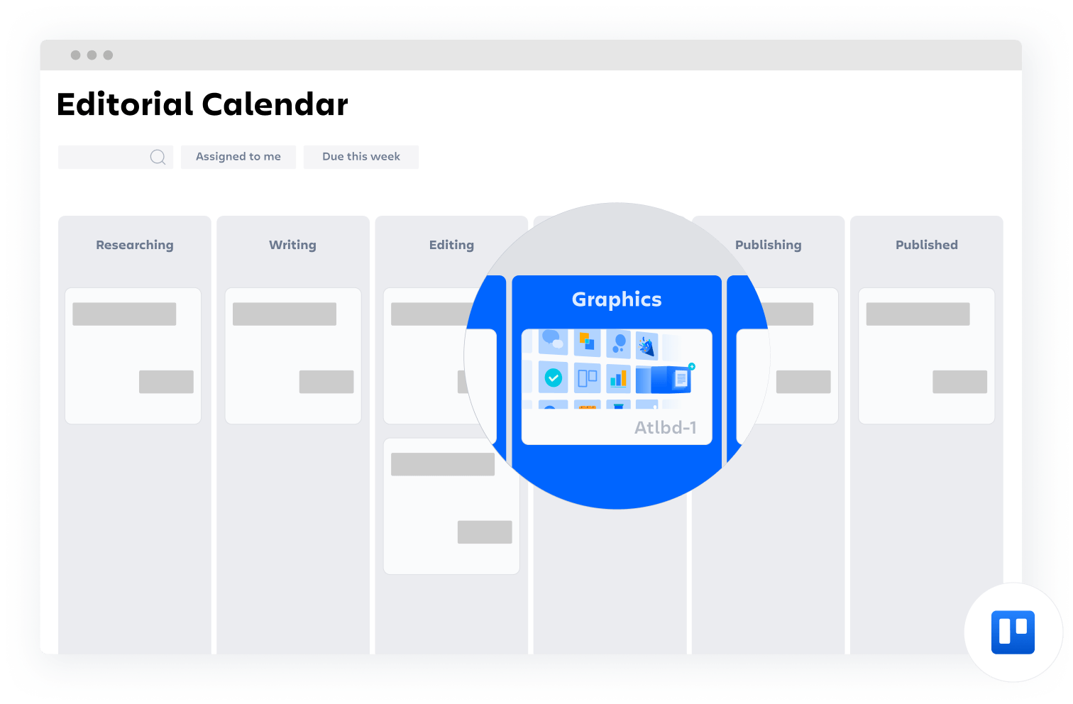шаблон Confluence: редакторский календарь