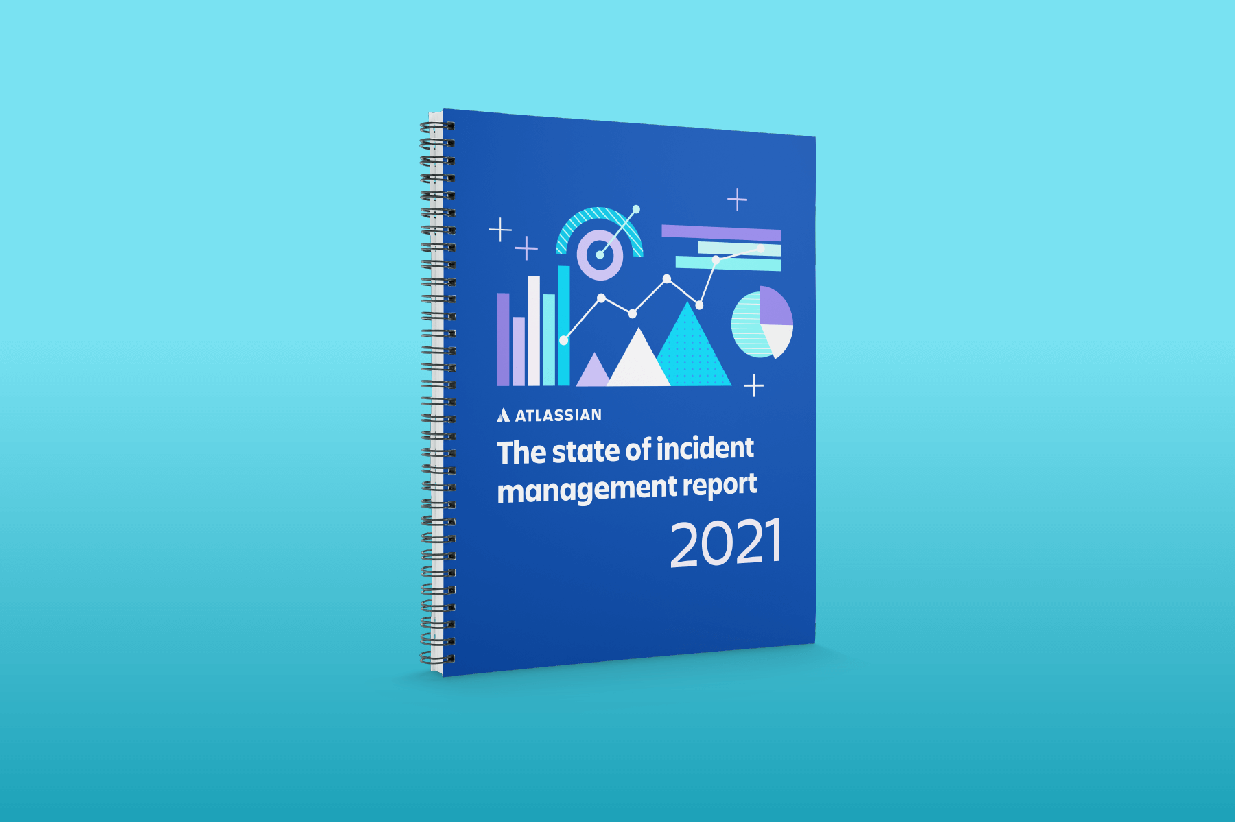 Omslag met rapport over de status van incidentmanagement 2021