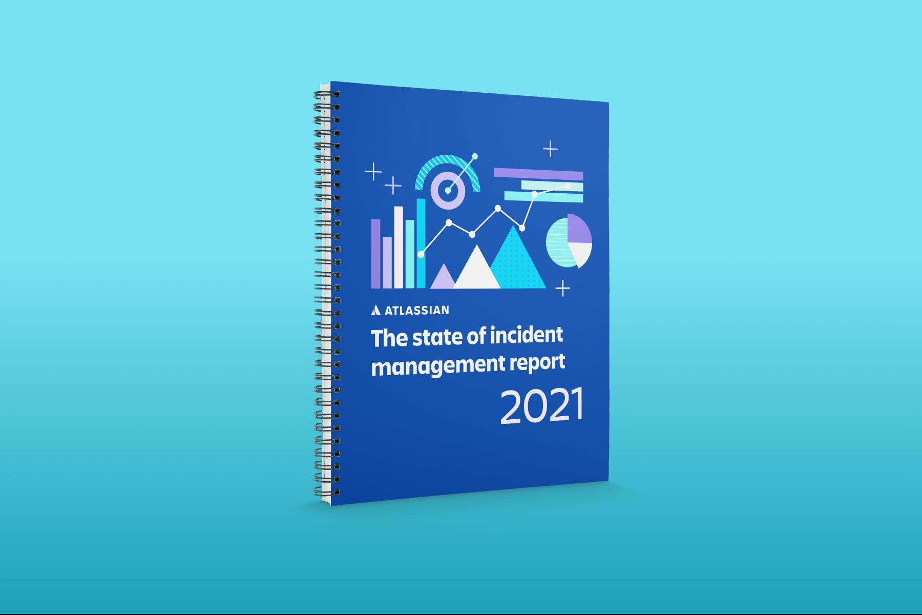 Capa de Relatório do estado de gerenciamento de incidentes de 2021