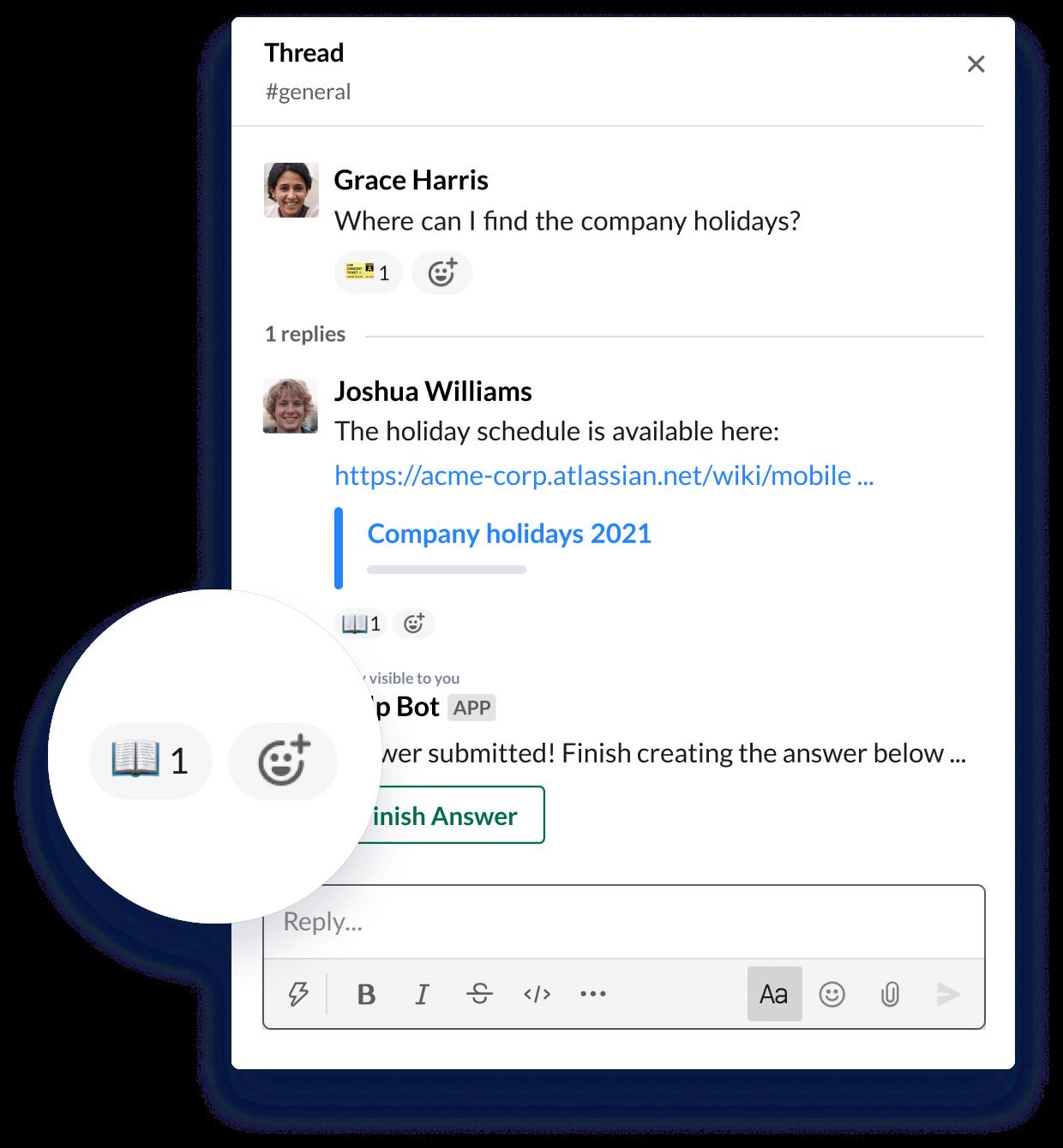 Transformez n'importe quel message en une réponse enregistrée