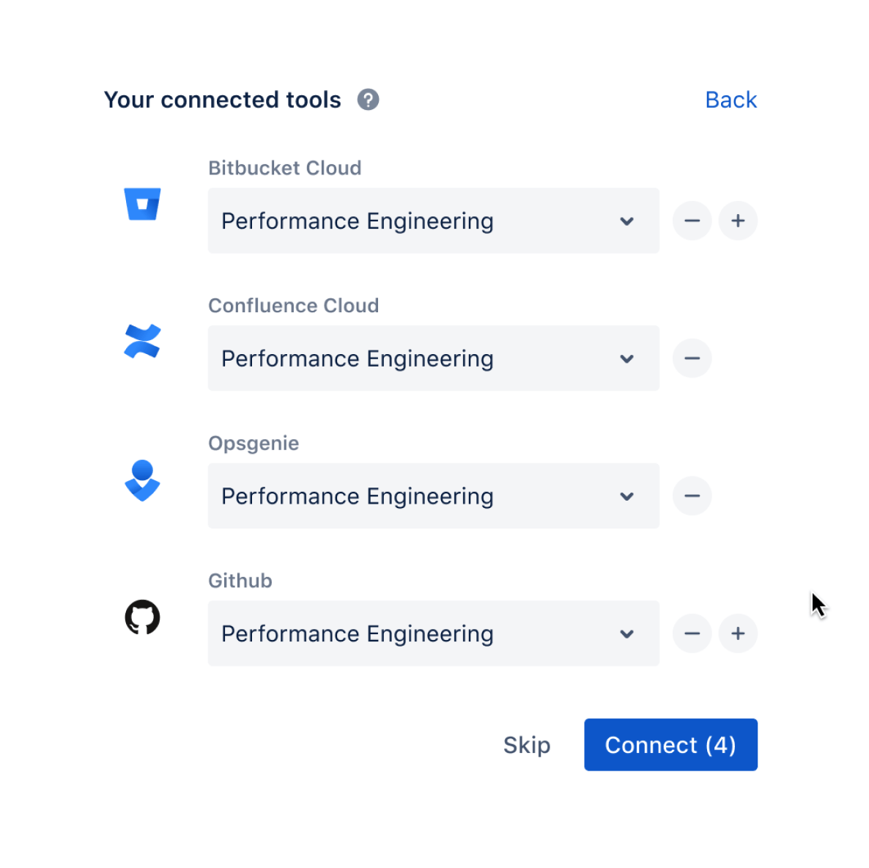 Infinity-Projekt-Dashboard, DevOps Jira-Bildschirm