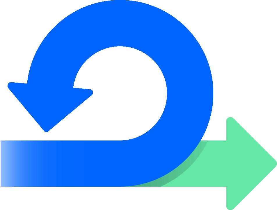 Flechas de DevOps da Atlassian