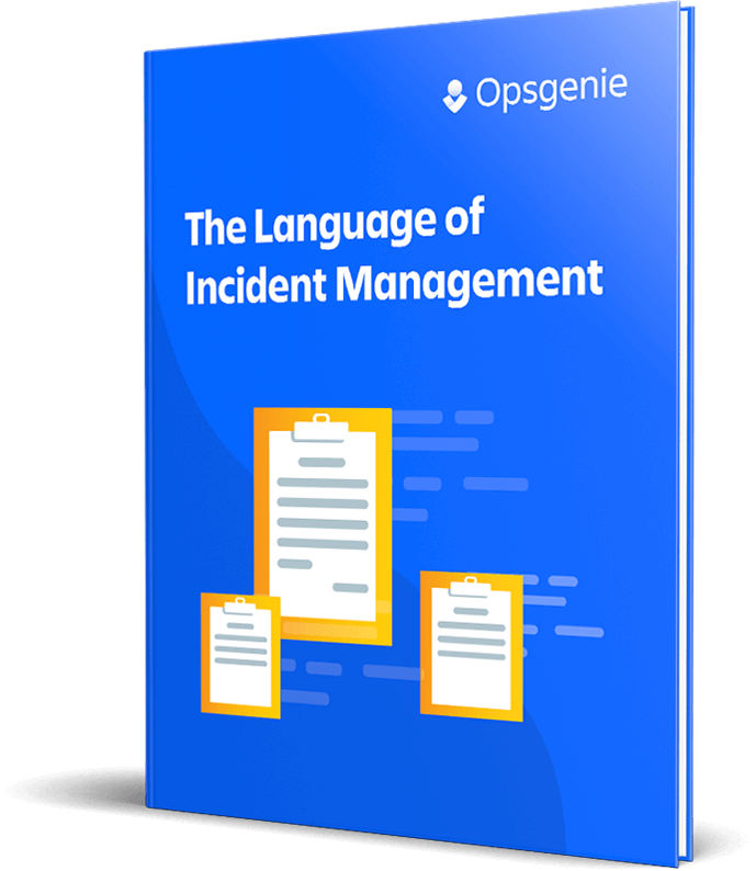The Language of Incident Management book cover