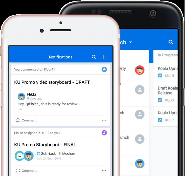 Smartfony z systemami iOS i Android