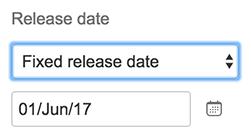 Portfolio for JIRA - Change release dates