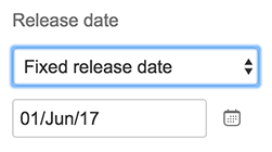 Portfolio for JIRA - Change release dates