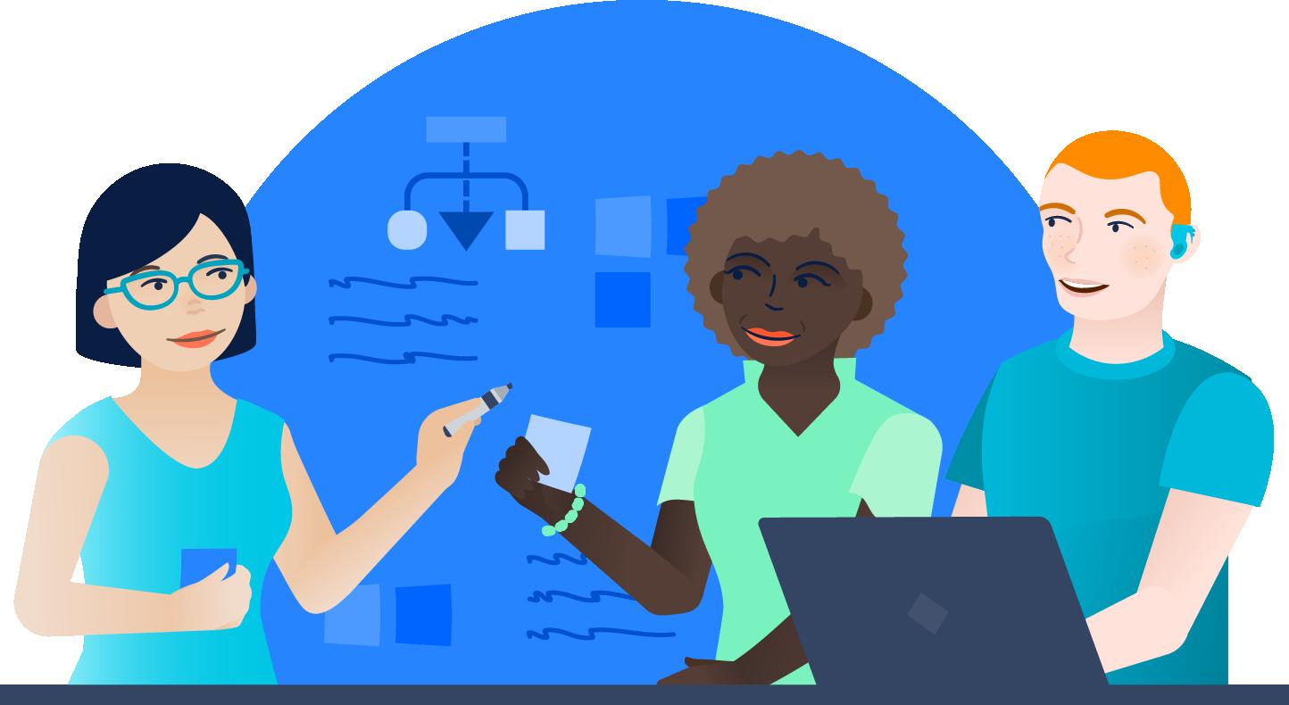 Meetings illustration