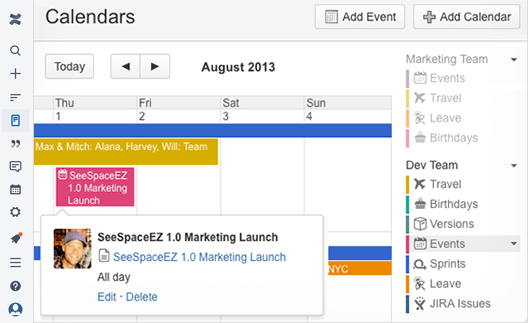 marketing calendars