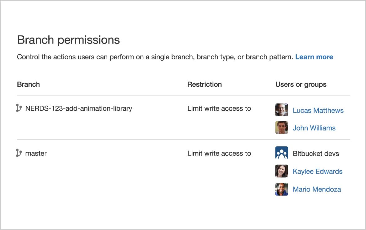 Branch Permissions