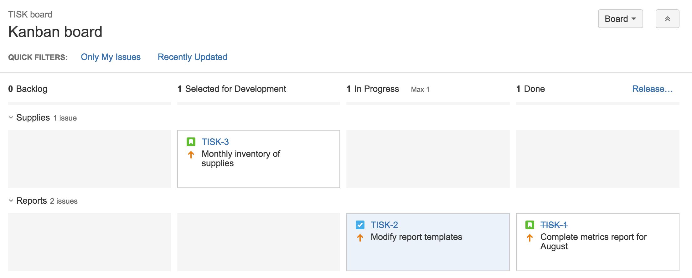 Carriles ágiles | Orientador ágil de Atlassian