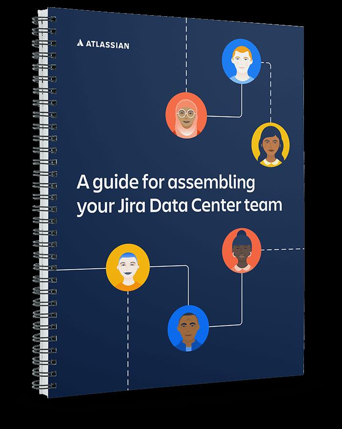 关于 Data Center 团队组建指南的电子书预览图像