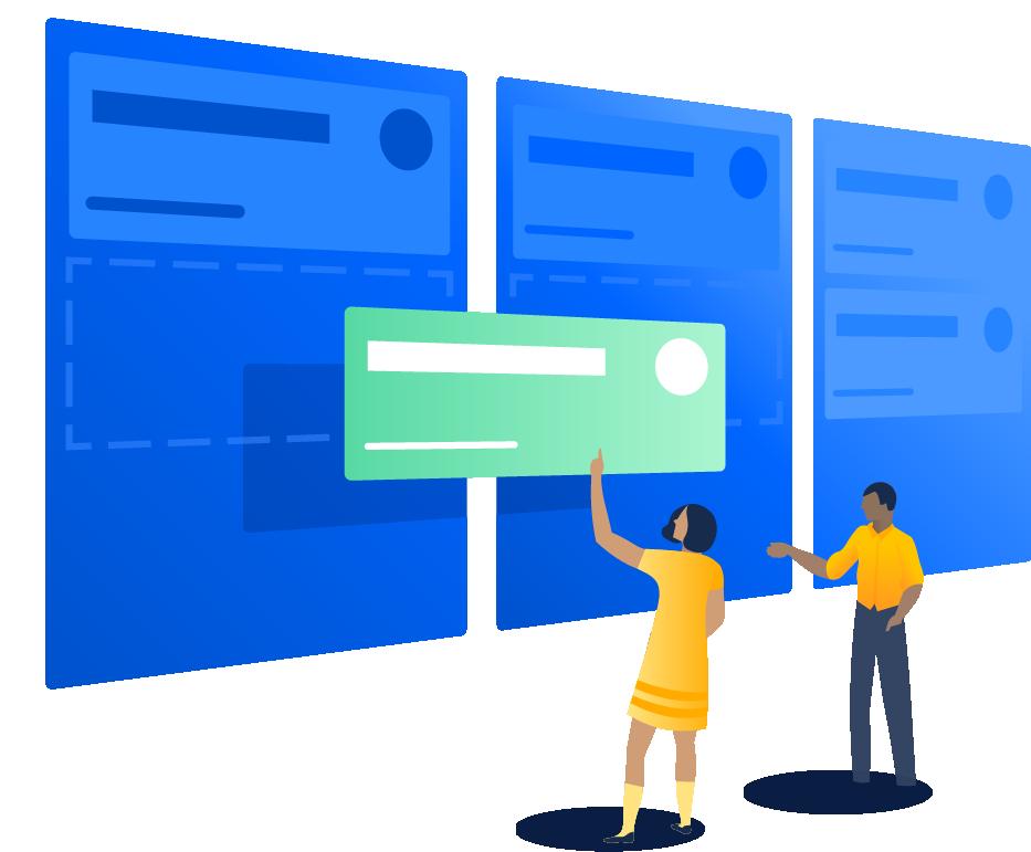 Tablero de kanban | Orientador ágil de Atlassian
