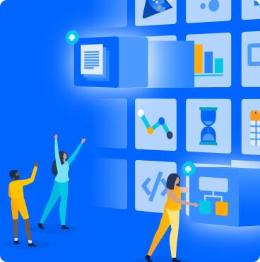 Atlassian Marketplace illustration