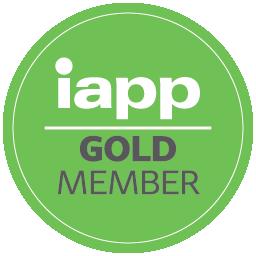 Логотип золотого члена IAPP