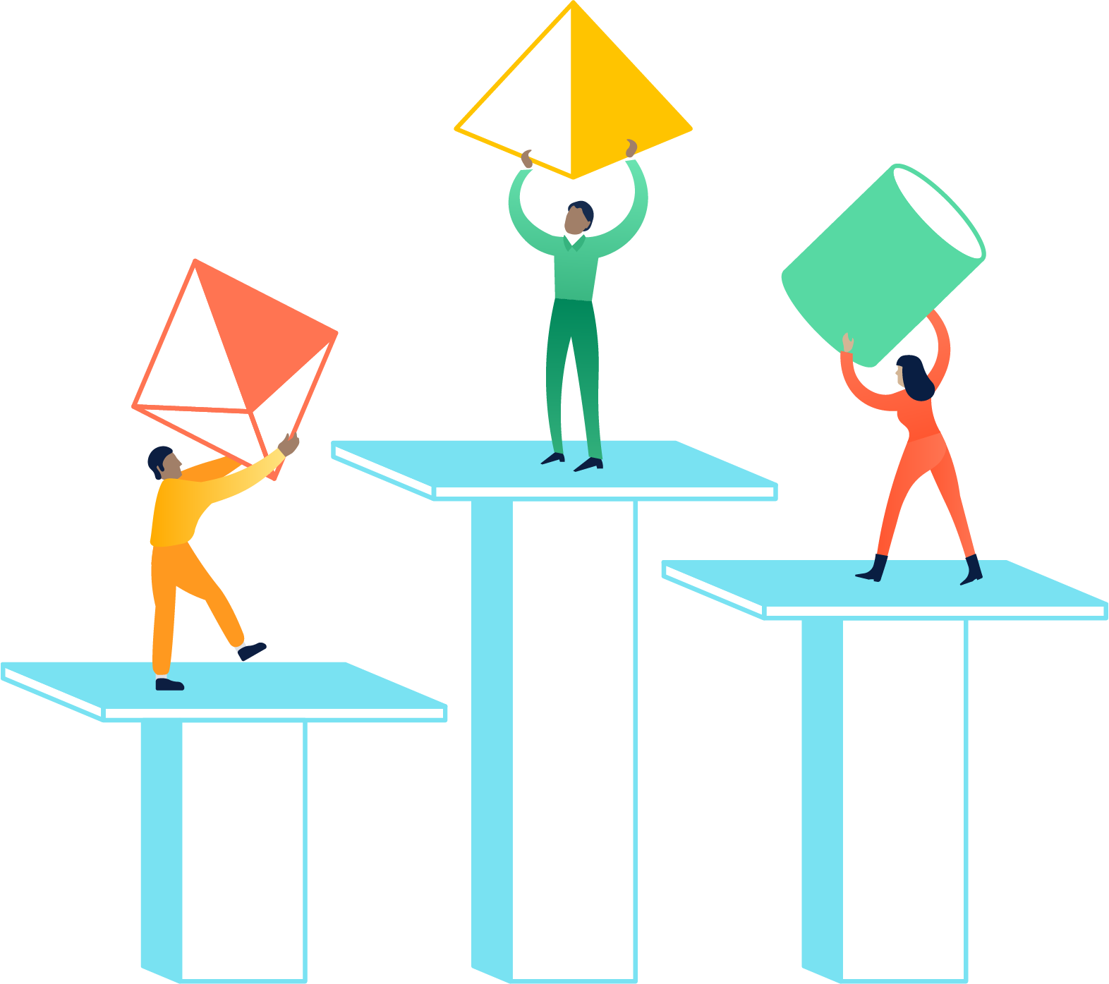 Les cinqsecrets des équipes informatiques ultra performantes