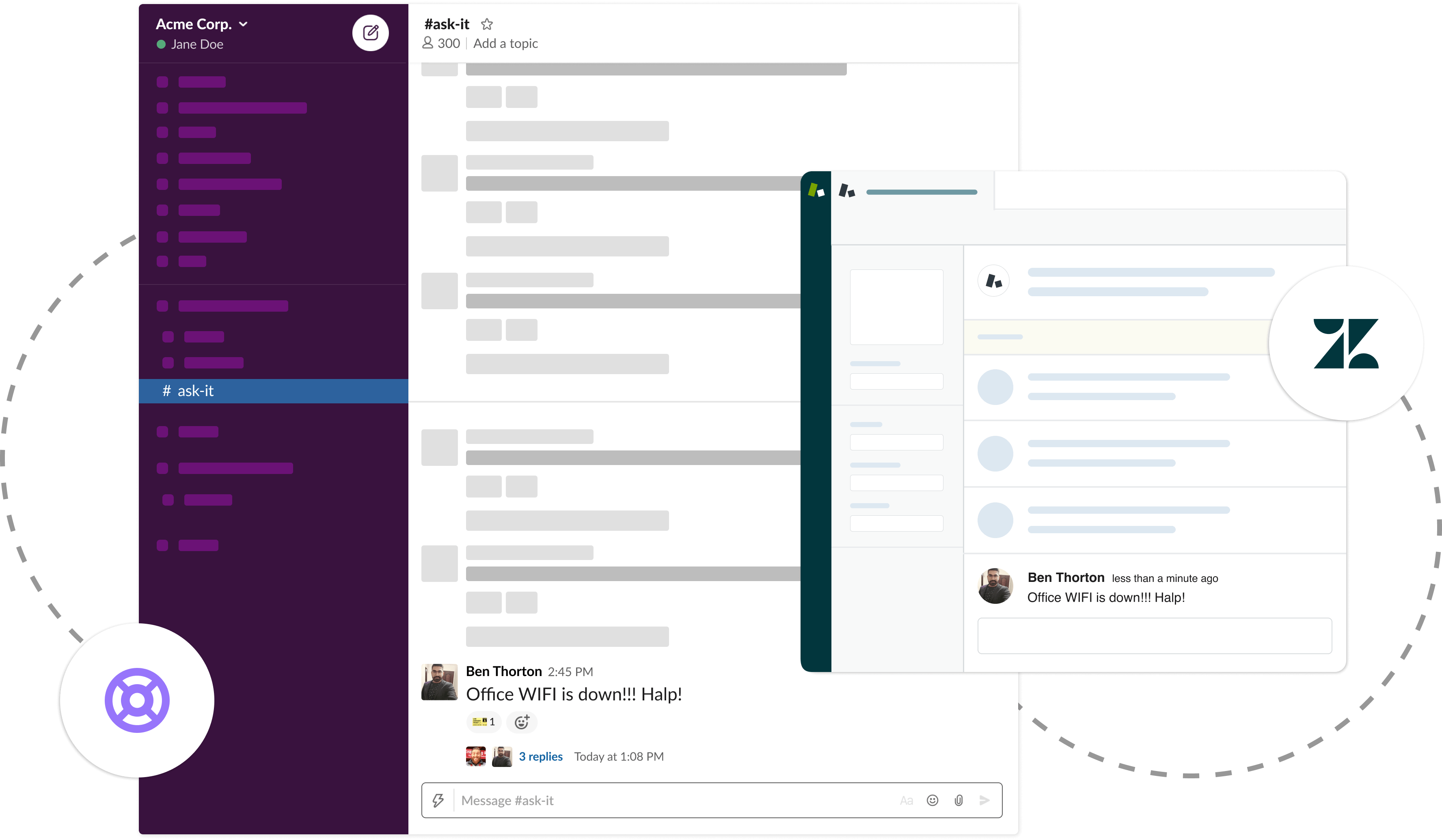 Two-way Zendesk Slack Integration