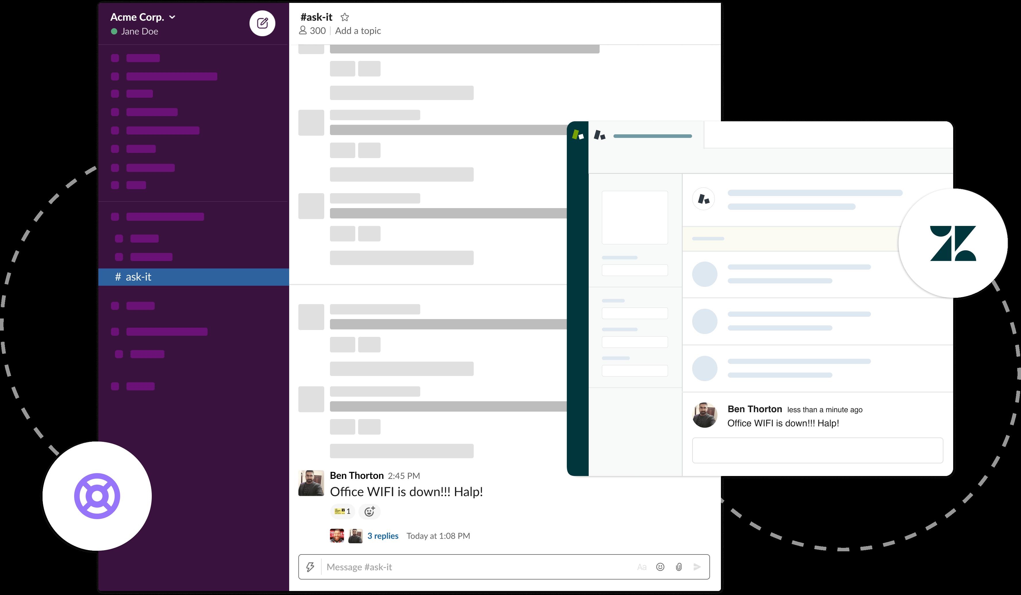 Two-way Zendesk Slack Integration