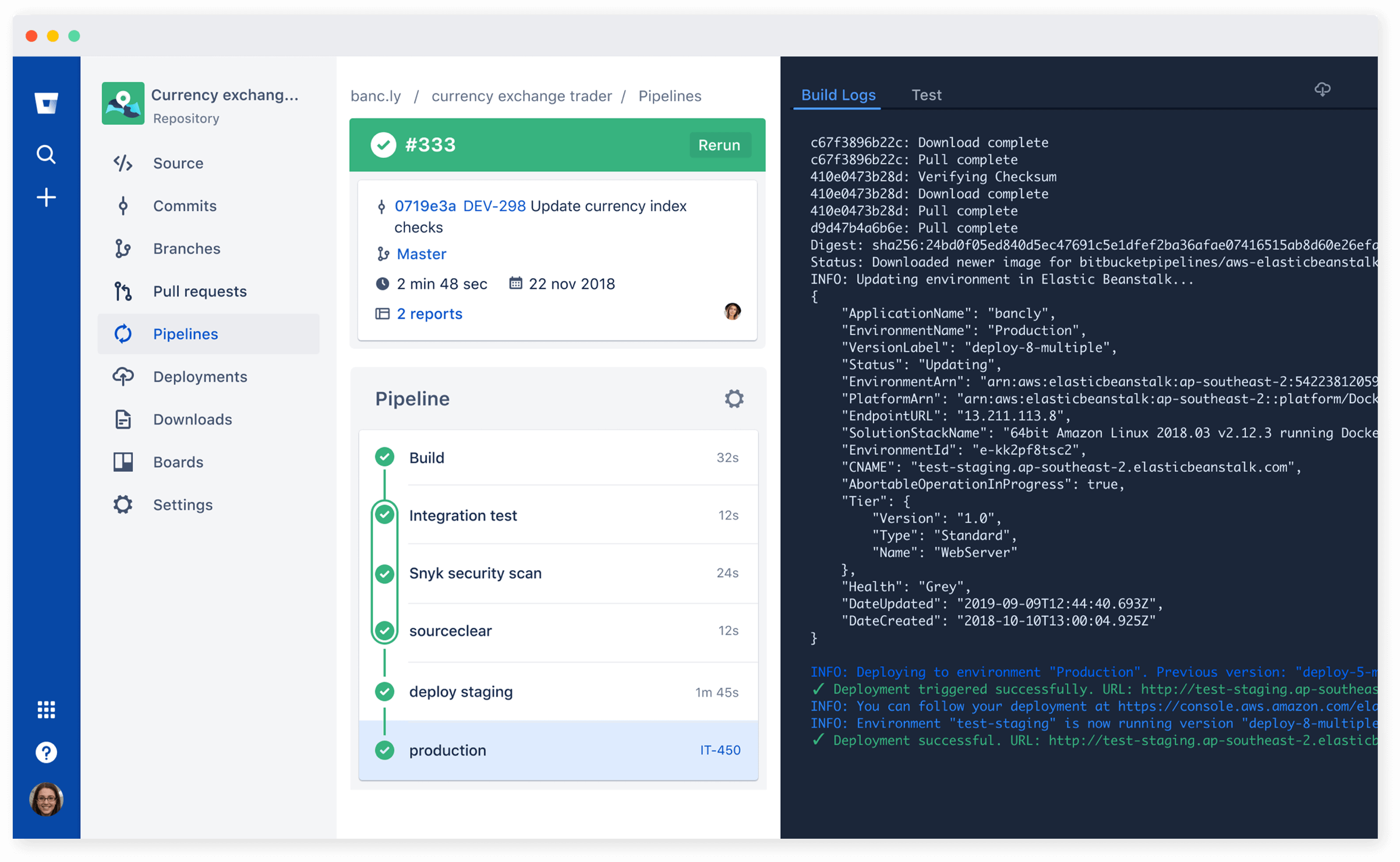 CICD Screenshot