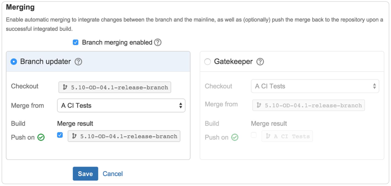 Merging branches screenshot