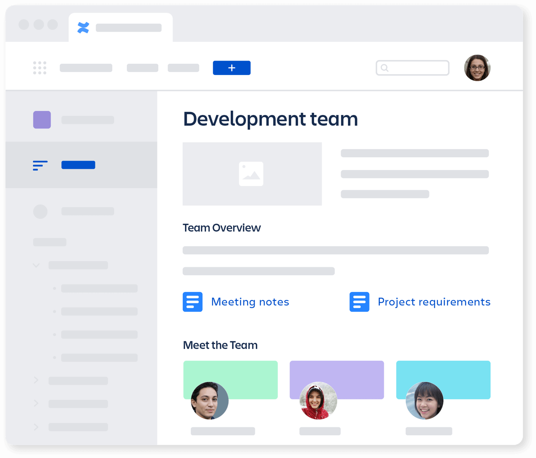 Grafik: Entwicklerteambereich