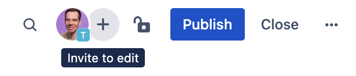 Adding people to Confluence page