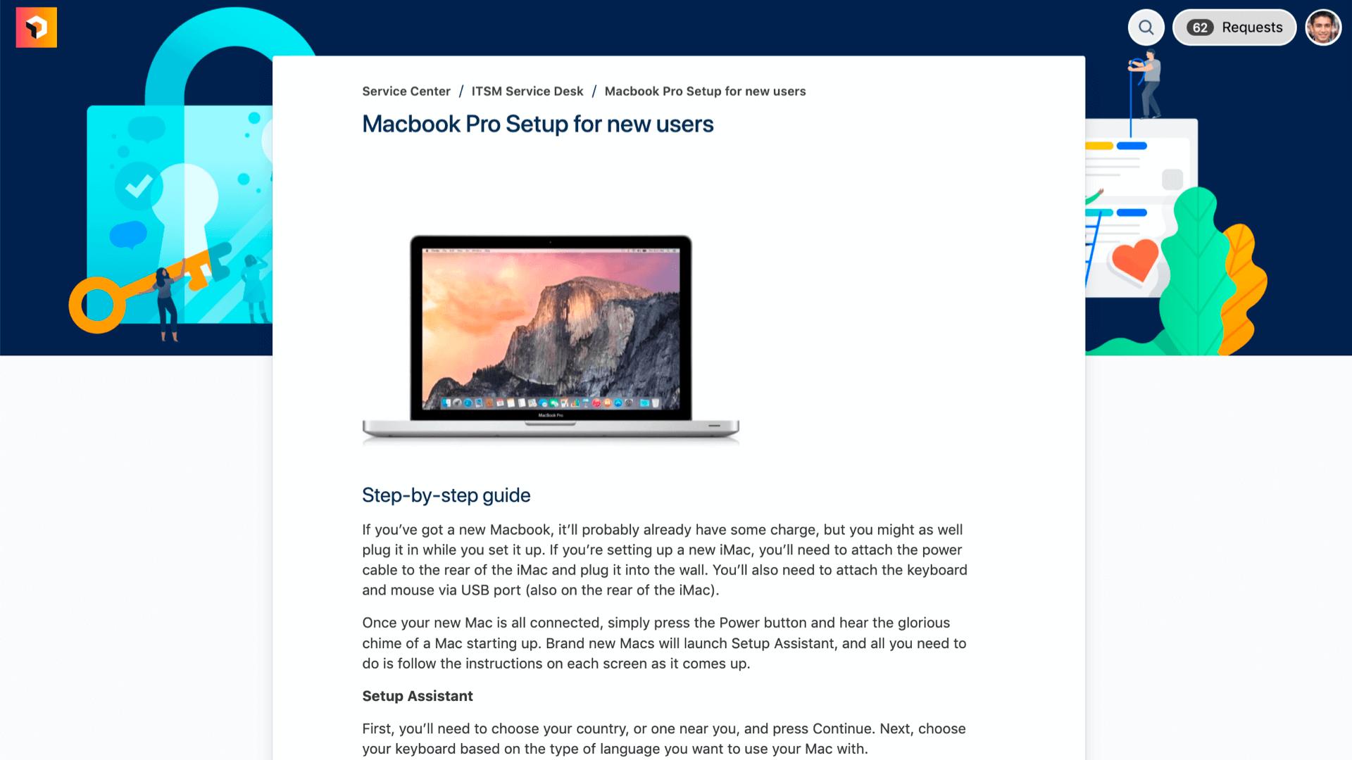 Servicedesk-portal