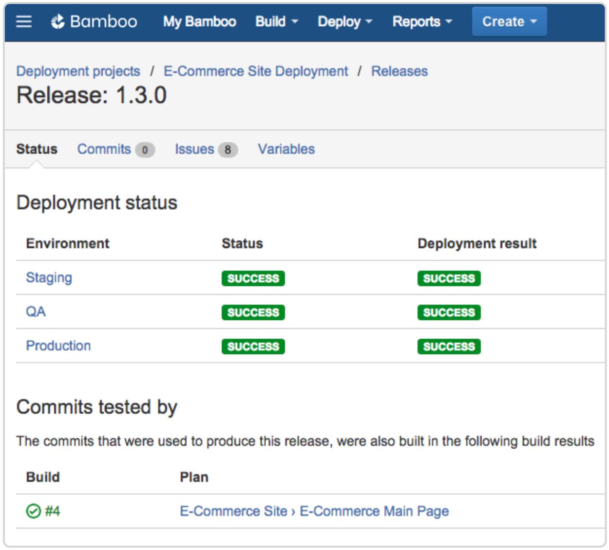 Bamboo deployment release 1.3.0 screenshot