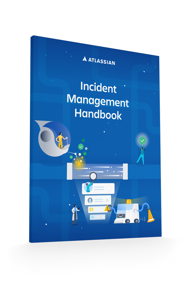 Capa do artigo técnico Gerenciamento de incidentes da Atlassian
