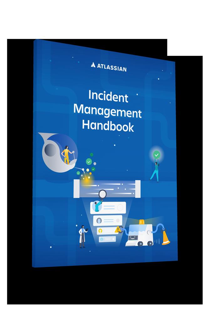 Podręcznik firmy Atlassian na temat zarządzania incydentami — okładka dokumentu