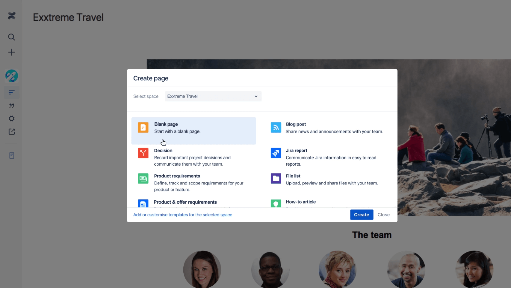 Demo video: How to create and share pages in Confluence