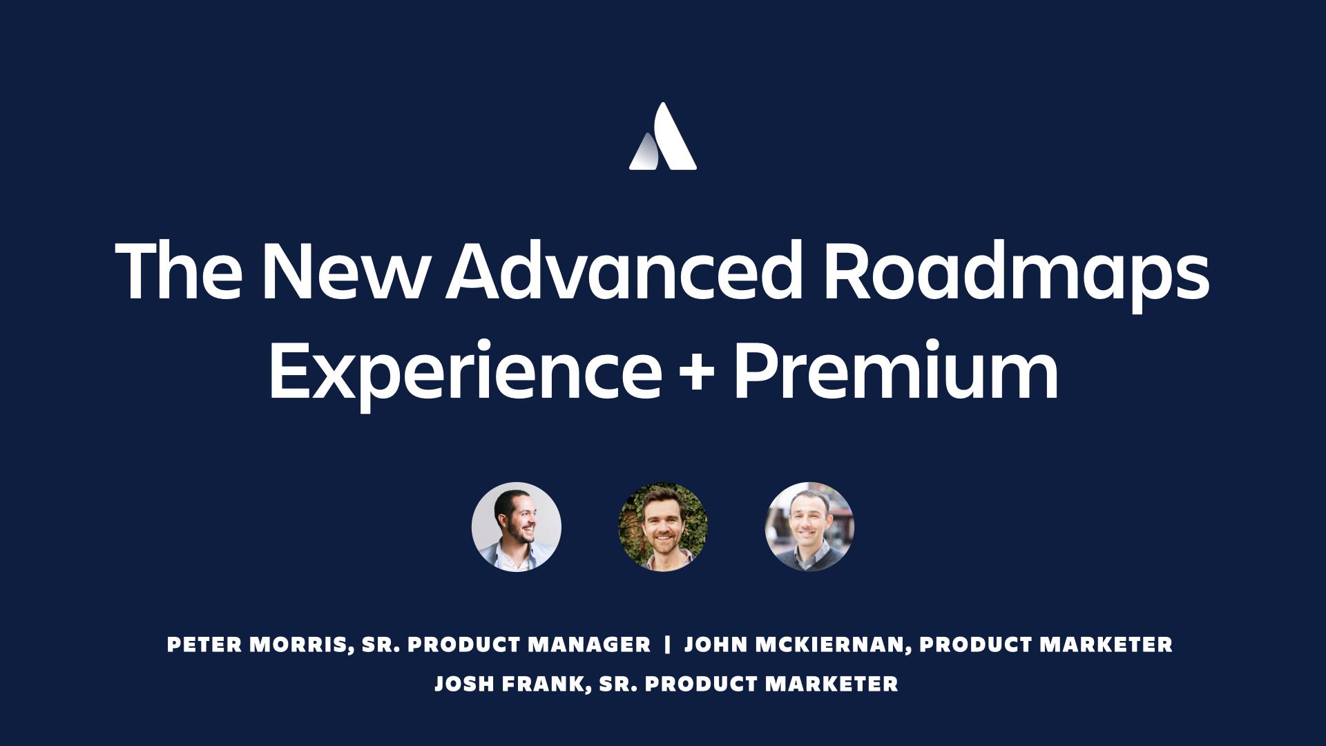 Advanced Roadmaps thumbnail
