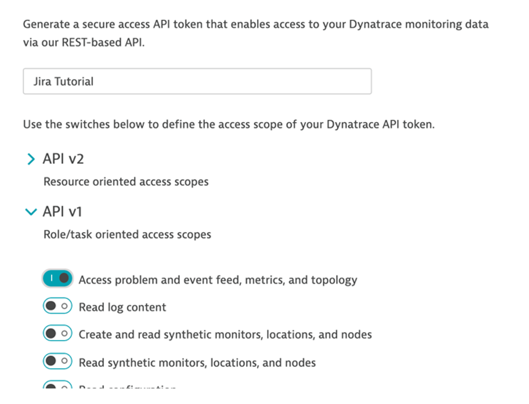 Access problem feed, metrics, and topology toggle