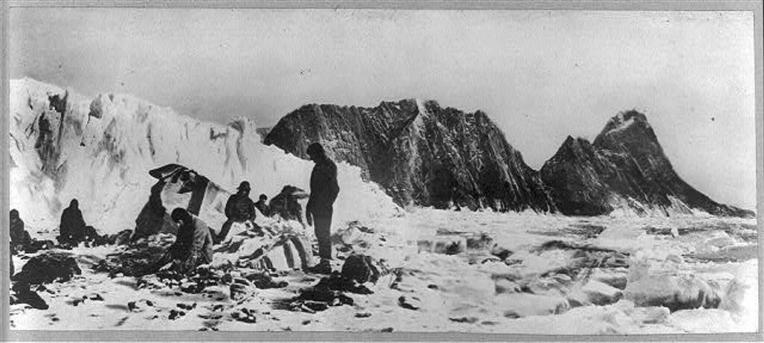 Shackleton wreck photo
