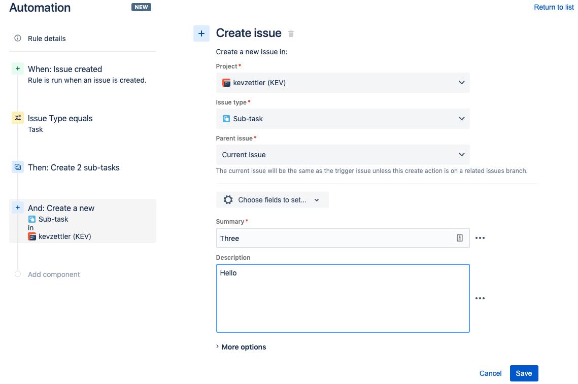 Create additional fields