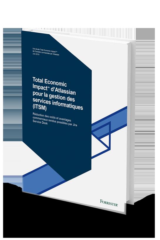 Couverture du documentPDF sur l'étude «Total Economic Impact™ sur les solutionsITSM d'Atlassian»