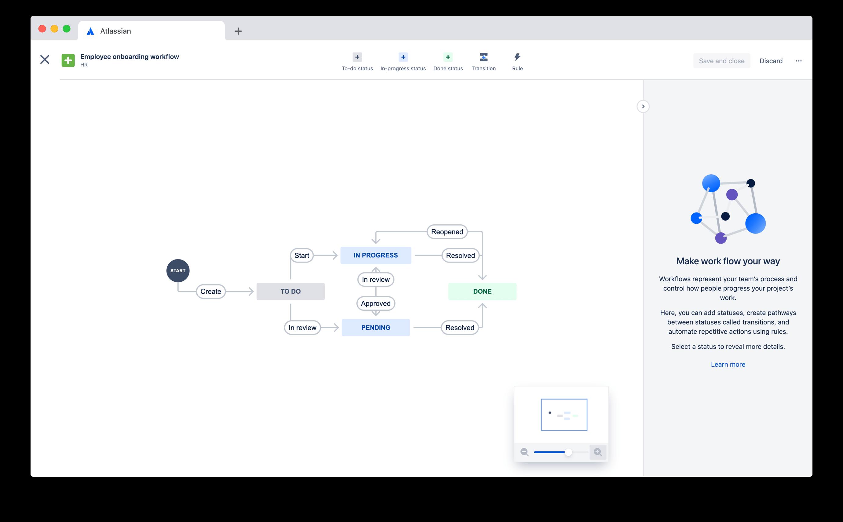HR-Workflow