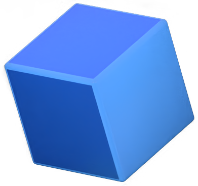 Floating cube