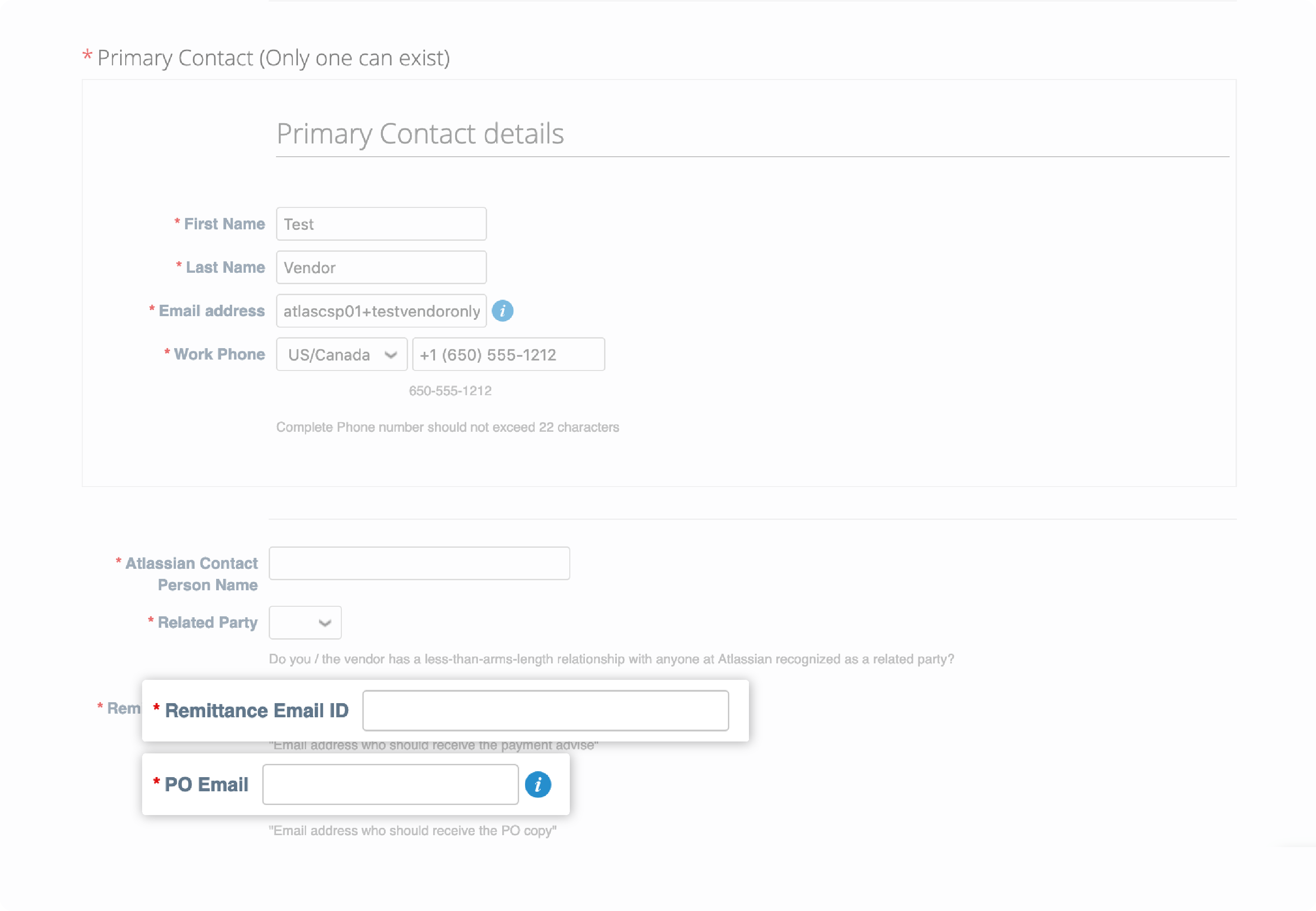Coupa Supplier Portal directed from action required email