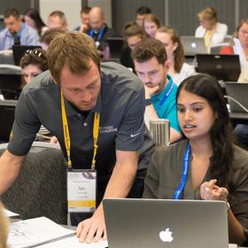 Atlassian training attendee