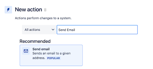 Jira automation rule to transition issues Step 4: add an action that sends an email to stakeholders